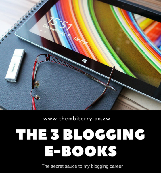 E-Books: The Secret Sauce To My Blogging