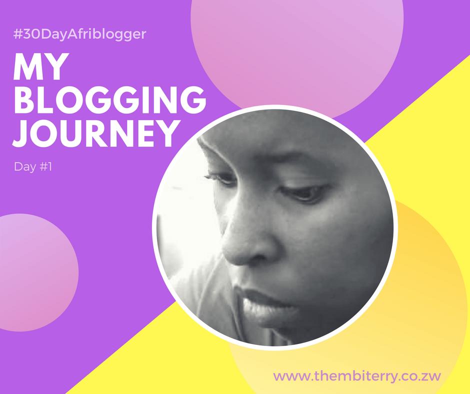 #1 My Blogging Journey