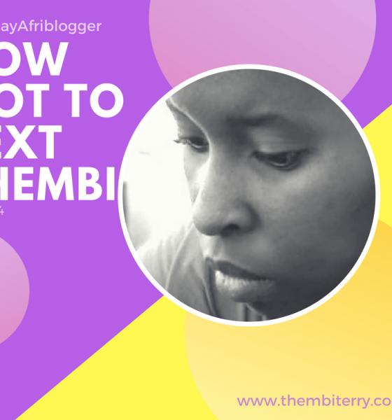 #4 How Not To…Text Thembi Terry